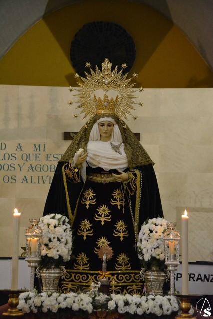 Provincia el rosario vespertino con la esperanza de dos - El tiempo dos hermanas sevilla ...