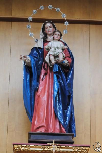 Resultado de imagen de Virgen del Rosario de Pino Montano. Sevilla